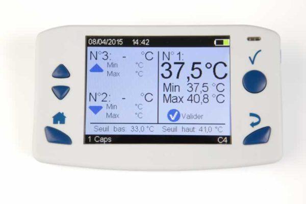 Monitor pour gélules connectées BodyCap e-Celsius