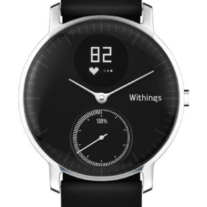 Withings Activité Steel HR 36mm black