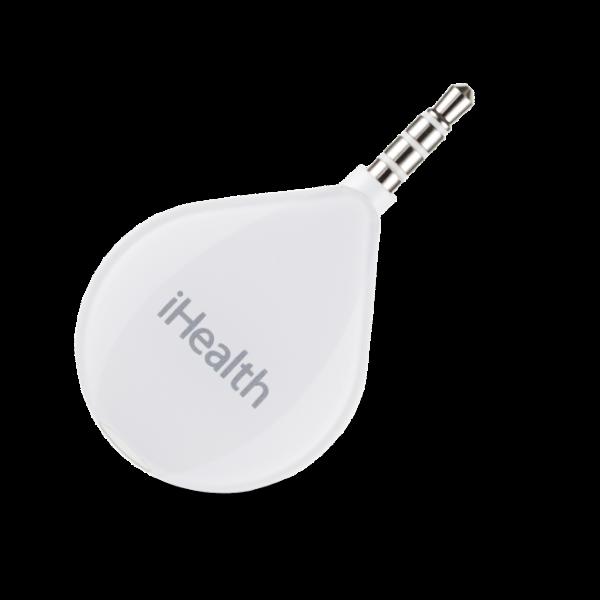 glucomètre avec connexion smartphone par prise jack